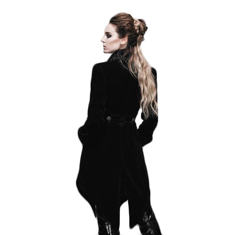 Gothic Women's Coat Steampunk Court Loyal Long Қаптамалар - Әйелдер киімі - фото 6