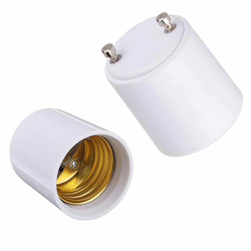 1X Auto LED Lamp Licht GU24-E17-G24-E40 om E27 E14 om 2 E27 Witte LED Light Bulb Lamp Adapter Houder Socket auto Licht Accessorie