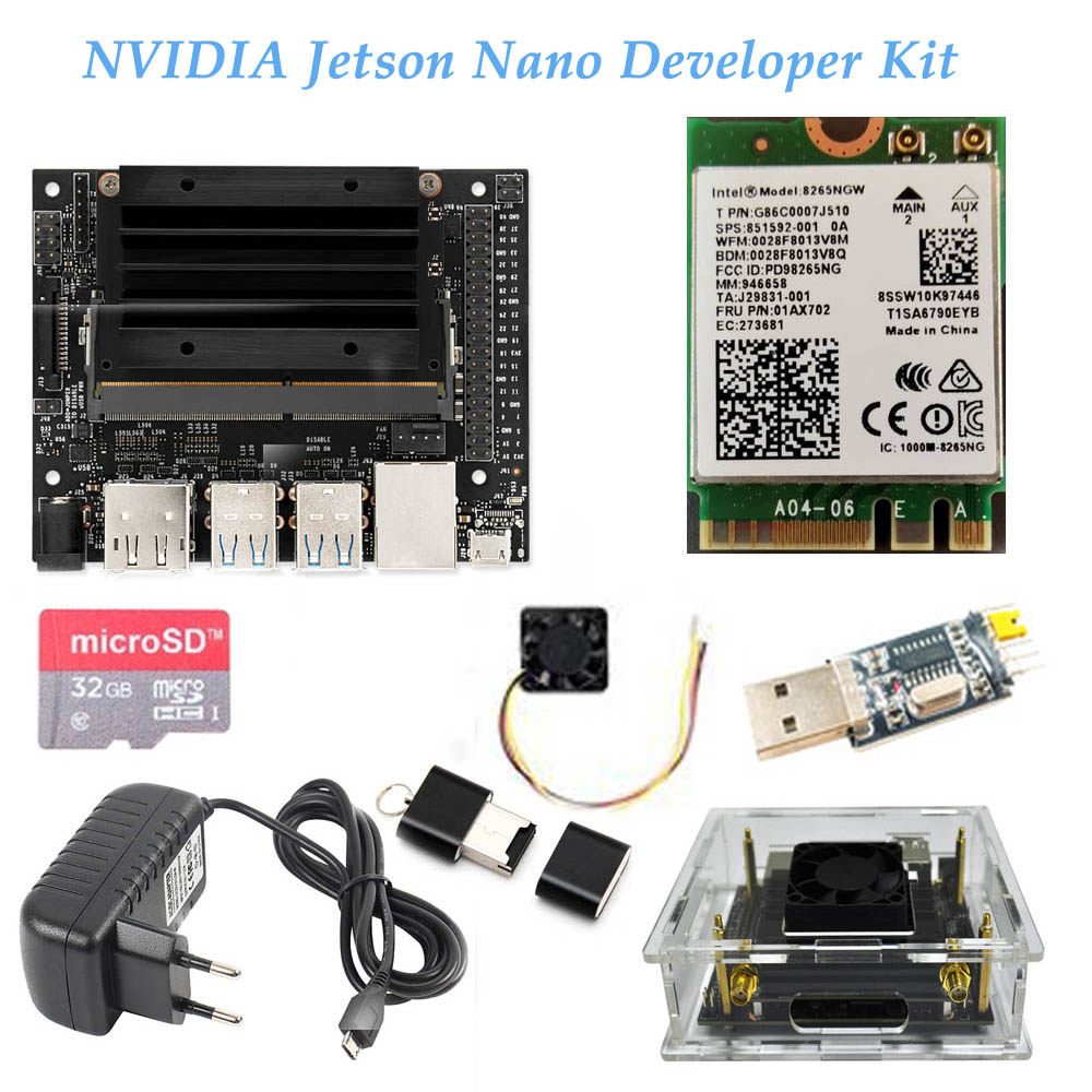 Jetson AGX Xavier Developer Kit demoboard 8-core ARM ,64-bit CPU,16GB+32GB  eMMC, Deep Learning,Computer vision,USB-C