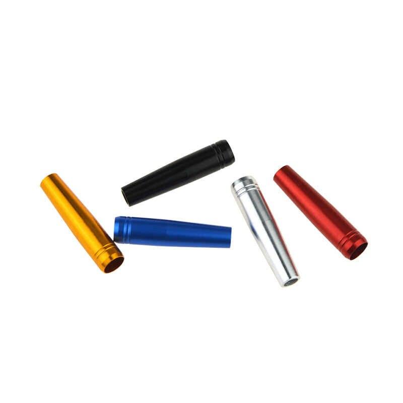 AMEYXGS 10 pz Tiro Con L'arco Per 8mm Solido Arrow Filettato Freccia Testa del Connettore Del Nastro/Oro/Nero/Blu /rosso Universale Filo Accessori