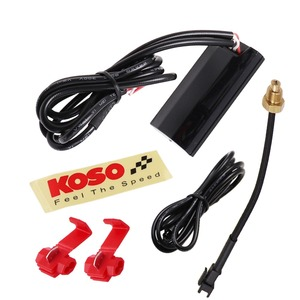 Image 3 - KOSO Motorcycle Thermometer for 0~120 Degree Centigrade Universal Digital Moto Water Temperature Gauge with Sensor & Adapter
