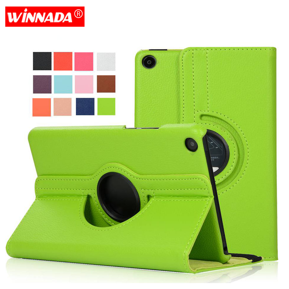 For xiaomi mi pad 4 case,  lichee grain 360 degree rotate Full Body Protective Smart Cover 8 inch tablet