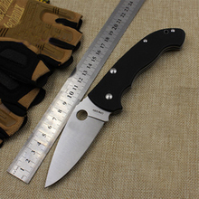 G10 Flipper Folding Knife Bearing 5CR15MOV Blade Handle Outdoor Camping Hunting Pocket Fruit Knife survival Tactical Knife Tools