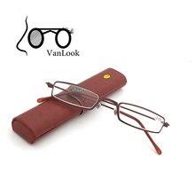 Slim Reading Glasses Men Women+1.00 +1.50 +2.00 +2.50 +3.00 +3.50 +4.00 Gafas de Lectura Antistress Framework w/ Spectacle-case