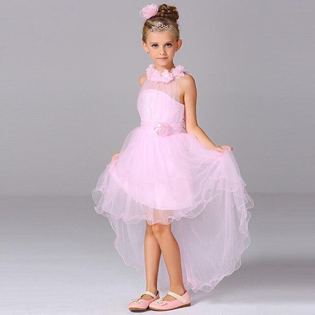 Vestido de boda del Grado superior para niños wedding party girls vestidos niños moda coreano vestido de fiesta para adolescentes chica NQ166 ...