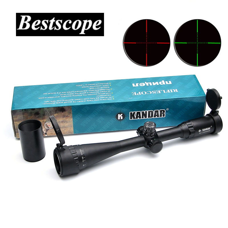 KANDAR 4-16X40 Optics Hunting Riflescope Reticle Crosshair Optic Sight Scope Rifle Tactical Scopes For Airsoft Gun Hunting цена и фото