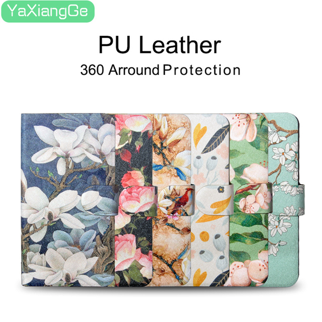 Flower PU Leather Case For Huawei P20 Lite P30 Pro Wallet Bag Card Slot Phone Case For Huawei P Smart Z 2019 Back Cover