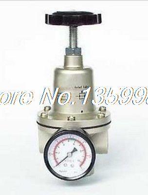 1 шт. qty 40 Пневматика Давление регулятор 1 1/2 BSPT с манометром 11000 л/мин