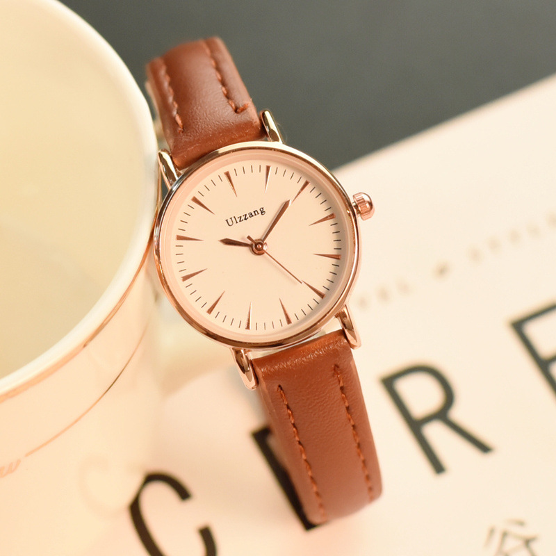 Minimalist Stylish Ultra Thin Women Dress Casual Watches Simple Slim Band Ladies Leisure Wristwatch Female Elegant Watch Hours