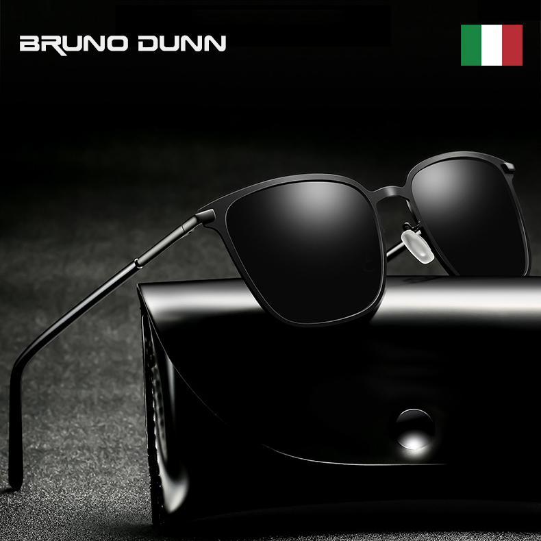BRUNO DUNN Polarized Sunglasses Men Retro Sun Glasses For Male Oculos polarizado de sol masculino ray Aluminum sunglases 2020(China)
