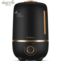 Deerma 4l Large Capacity Mute Electric Humidifier Mini Office Bedroom Aromatherapy Timing Negative Ion Humidification Machine