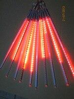 5sets Lot LED SMD2835 72leds Double Side LED Meteor Shower Rain Light Led Tube 12 800mm10
