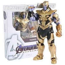 Endgame 4 Vingadores Marvel Thanos/o Homem Formiga SHF PVC Action Figure Collectible Modelo Toy