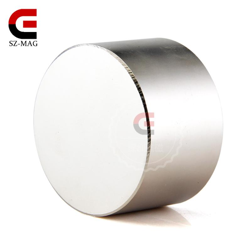 1pcs Strong Rare Earth Strong Neodymium Magnets N52 Dia 50x30mm Wholesale