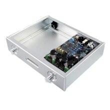 WA48 pełny wzmacniacz aluminiowy obudowa/wzmacniacz sceniczny/obudowa dekodera DAC/AMP obudowa/skrzynka AMP/pudełko diy