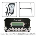 FMUSER FU-7С 7 Вт стерео PLL вещания передатчик + дипольная антенна + адаптер питания 76 МГц ~ 108 МГц