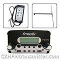 FMUSER FU-7C 7 w stereo PLL transmissão transmissor + antena dipolo + adaptador de energia 76 MHz ~ 108 MHz