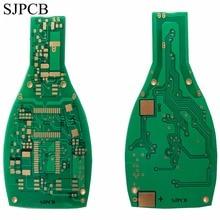 SJPCB бутылка пива особой формы печатная плата производитель погружения золото индивидуальные контур PCB игрушки или украшения электроники