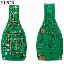 SJPCB ビールボトル特殊な形状プリント基板メーカー浸漬ゴールドカスタマイズ概要 PCB おもちゃや装飾エレクトロニクス