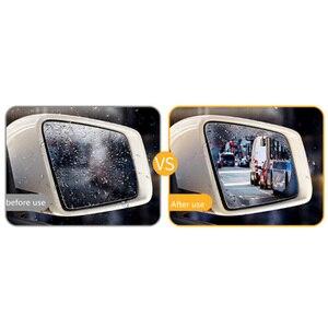 Image 4 - 2 adet Araba dikiz aynası su geçirmez ve anti sis filmi SSANGYONG Başkanı Rexton Kyron Rodius Actyon korando Tivoli