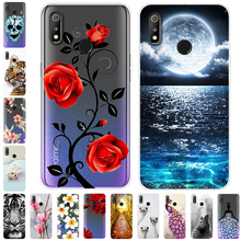 For OPPO Realme 3 Case Silicone tiger Soft TPU Back cover for OPPO Rea