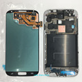 White For Samsung Galaxy S4 I9506  LCD Display Touch Screen Digitizer+Front Frame
