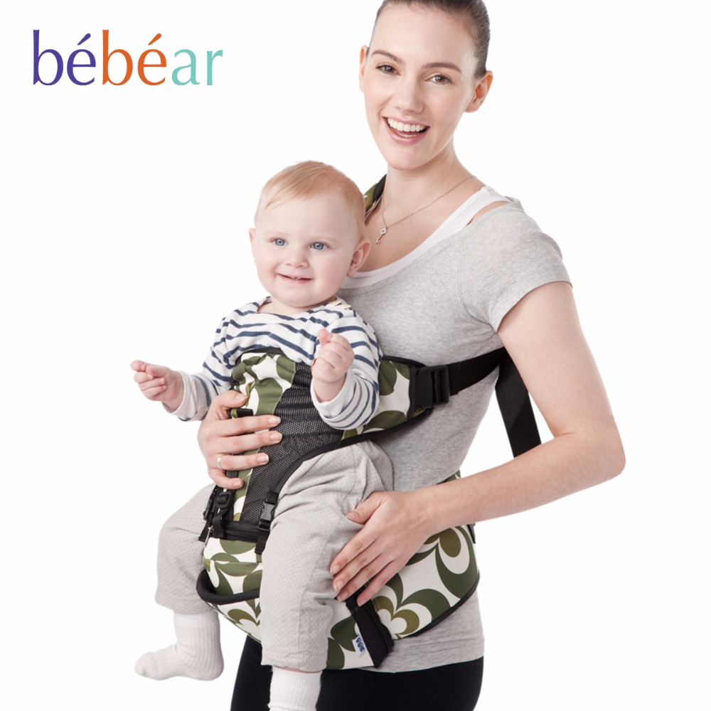 0-36 months three posture load 20Kg Ergonomic hipseat dual buckle double safety baby carrier comfortable backpack kid sling