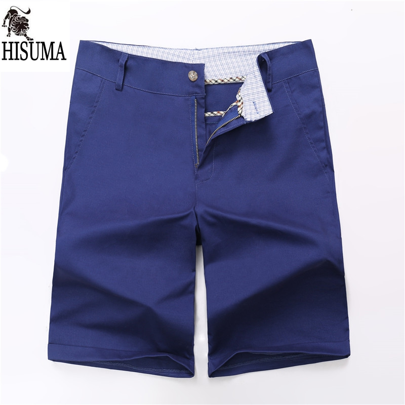 2016 Summer Beach Shorts Foreign trade Mens solid Cotton Shorts beach shorts cultivating large size casual Shorts 7 colors