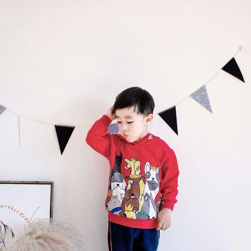 2016 autumn winter bobo choses fruits pear apple stripe long sleeved cotton t shirts kids t shirts hoodies kikikids vestidos