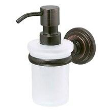 Дозатор жидкого мыла WasserKRAFT Isar K-7399 (Металл, уплотнительные пластиковые кольца, матовое стекло, покрытие
