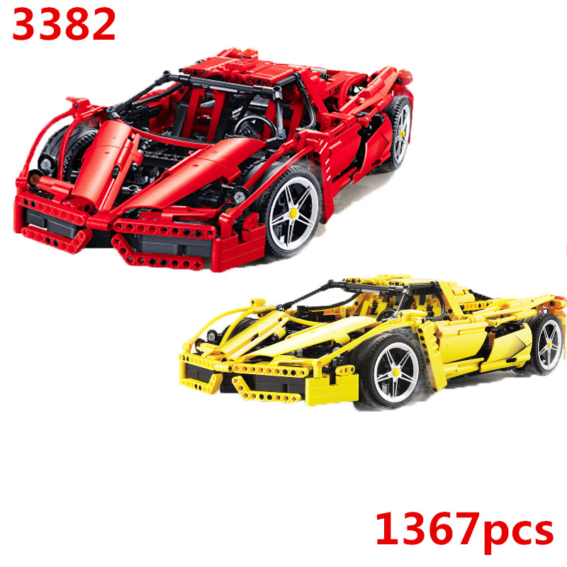 8653 Technic Formula Speed Champions Racer Car Model Building Blocks City Avion MOC F1 Enzoed DECOOL