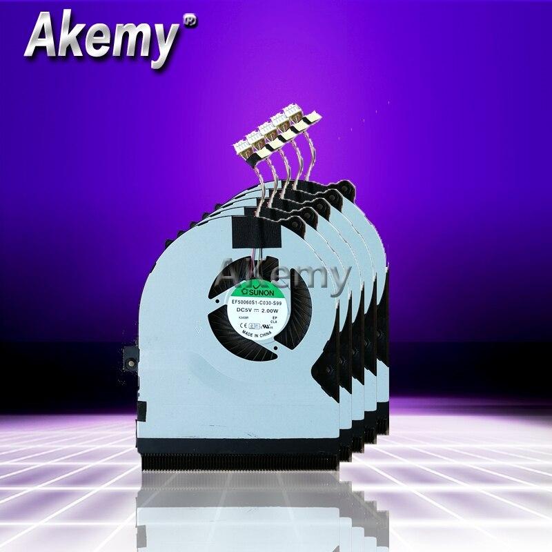 Aemy новый ноутбук процессор вентилятор охлаждения для ASUS S56 s550cm s56ca s56cb K56 K56C K56CA A56 A56C X550VC EF50060S1-C030-S99 DC 5 В 2,0 Вт