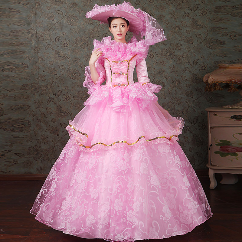 women dress Elegant fashion female royal clothing costume royal female clothes series