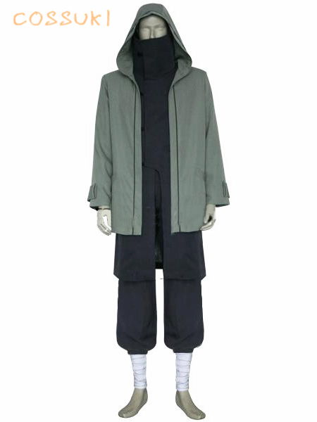 Free Shipping Newest Naruto Shippuden Shino Aburam Uniform Cosplay Costume Perfect Custom For You