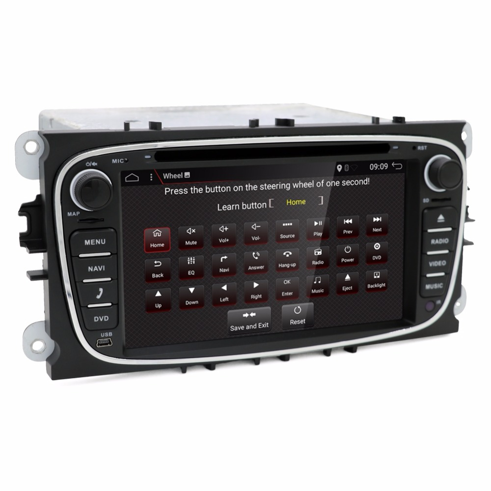 bosion 7 inch android 7.1 car dvd for focus ford mondeo ford kuga ford S-MAX C-MAXcar radio Multimedia Screen Head Unit