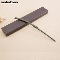 Mobokono New High Quality Gift Box Packing Harry Potter Metal Core Magic Wand For Kids Cosplay
