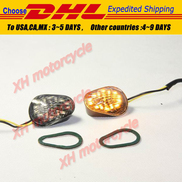 motorcycle partsClear Euro LED Flush Mount Turn Signal for   YZF R1 R6 R6S 2006 2007 2008