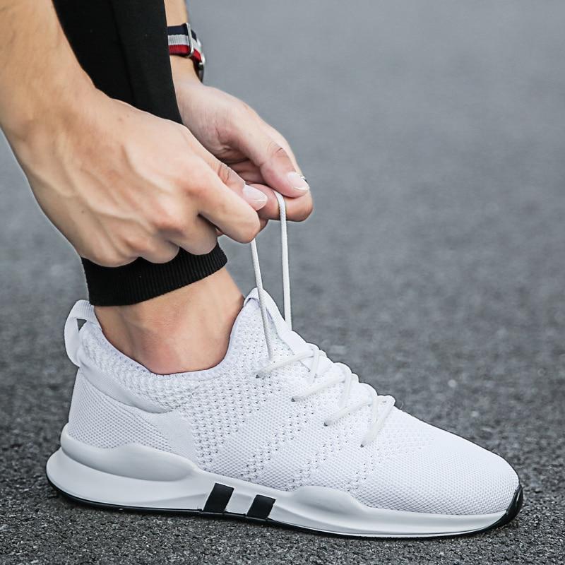 2019 Hot Sale Sport Trainers Men Casual Shoes Fashion Men Air Mesh Breathable Men Trainers Male Sneakers Shoes Big Size 39-47