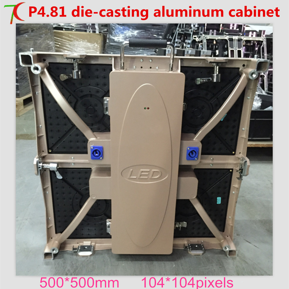 Watch P4.81 die-casting aluminum cabinet full color display  for rental business , SMD,13scan,43624dot/sqmWatch P4.81 die-casting aluminum cabinet full color display  for rental business , SMD,13scan,43624dot/sqm
