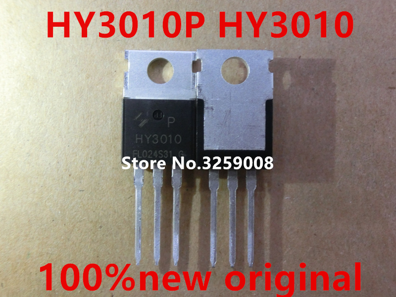 HY3010P <font><b>HY3010</b></font> TO-220 100V/100A 10moh 100% new imported original 10PCS image