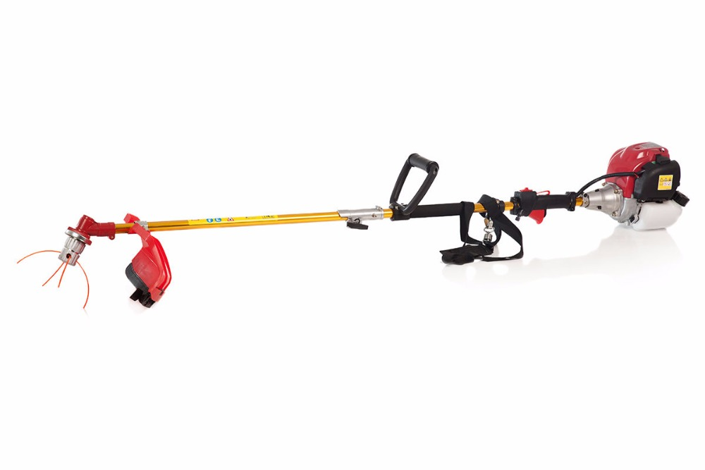Tools : 2020 New Quality 6  in 1 Multi tool Brush cutter 4 stroke GX35 Engine Petrol strimmer Grass cutter Tree Pruner hedge trimmer