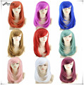 Hot Sale Hairstyles for Medium Straight Hair Anime Cosplay Wig Peluca High Quality Japanese Women Synthetic Hair Peruca 9 colors