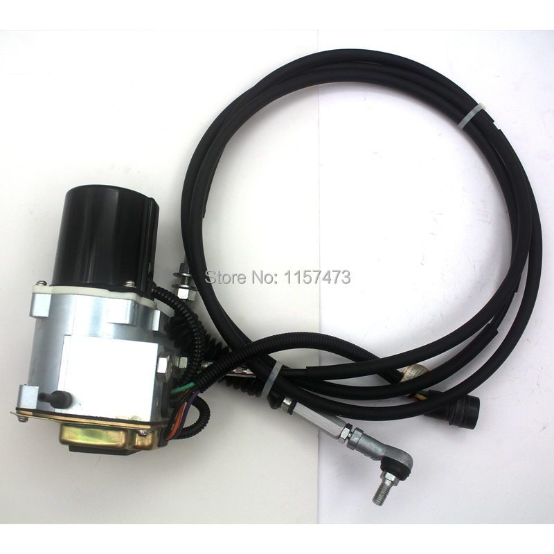 E320L 320L Excavator Speed Gas Accelerator Motor 105 0092 with Single Cable, 6 month warranty