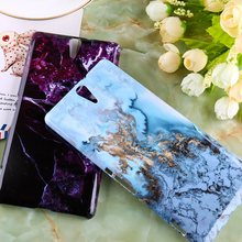 Hard Plastic Marble Phone Cases  For Sony Xperia C5 Ultra E5553 Dual E5506 Durable Shell Shield Smartphone Shell  Housing Cover
