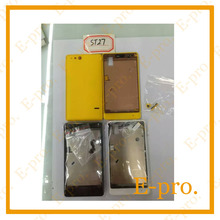 New Complete Full Housing For Sony Xperia Go ST27i Battery Door Rear Cover +Buttons Black White Yellow Color +Tools