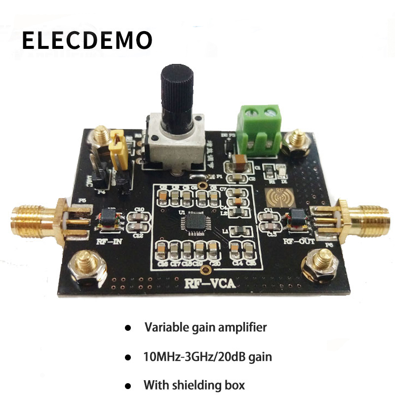 ADL5330 Module Wideband Voltage Variable Gain Amplifier Module 20dB Gain High Linear Output Power Function demo Board-in Demo Board Accessories from Computer & Office