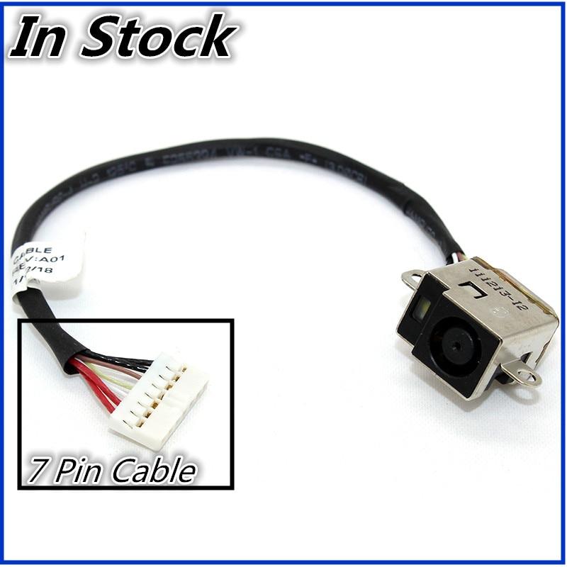 HP Chromebook 14-q000 Series Laptop  DC Power Jack Cable Charging Port Socket