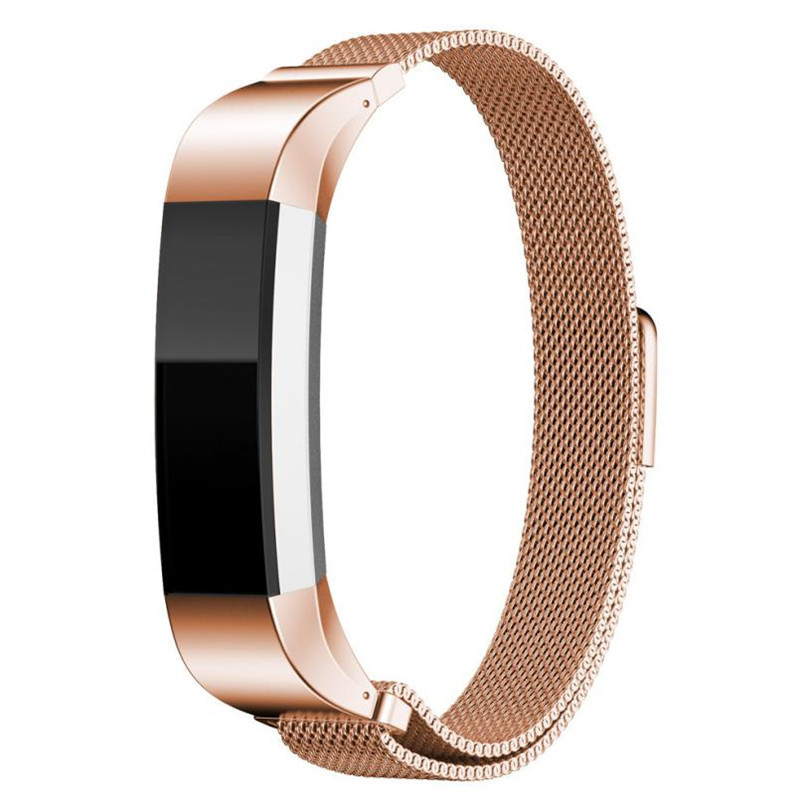 Wristband watch 2018 New and high quality Milanese Magnetic Loop Stainless Steel Band For Fitbit Alta Smart Watch #0703