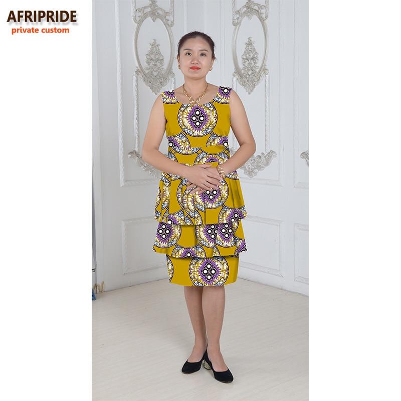 Nouveau robes africaines pour les femmes style de gâteau femmes - Vêtements nationaux - Photo 4