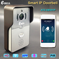 One Key WIFI Intercom Video Doorbell Motion Detection 720P Wireless Door Phone
